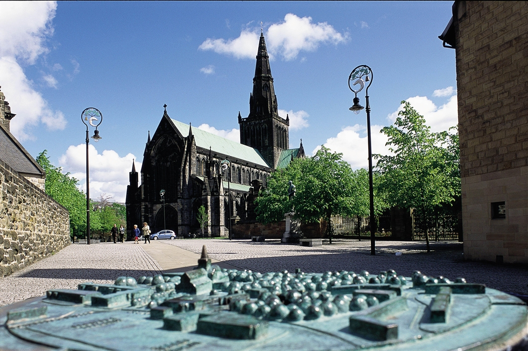 Glasgow Cathedral is the only one on the Scottish mainland to survive the Reformation of 1560 intact (Visit Scotland)