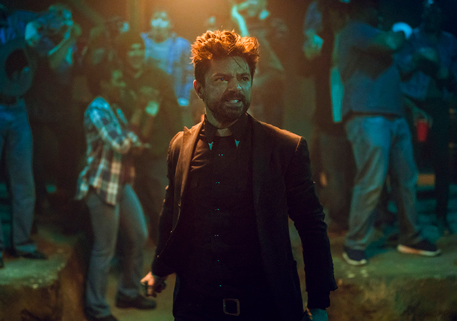 "Jesse Custer is finally back as the ringleader of the ""tombs"" in 'Preacher' season 3."