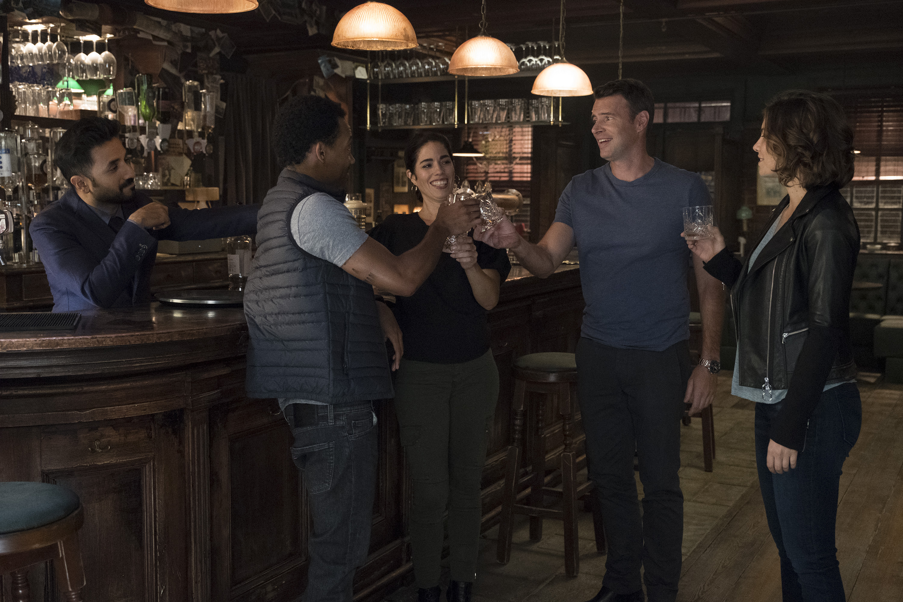 Finally, the interagency team of superagents has come to fruition after completing their first mission together in 'Whiskey Cavalier'. (Source: ABC)