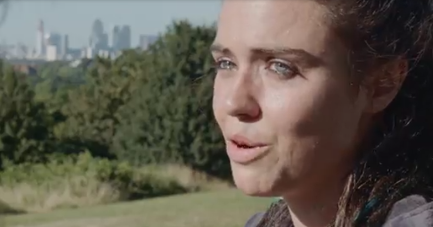Jennie Jacques as Amber in London Kills season 1. Source: Acorn TV