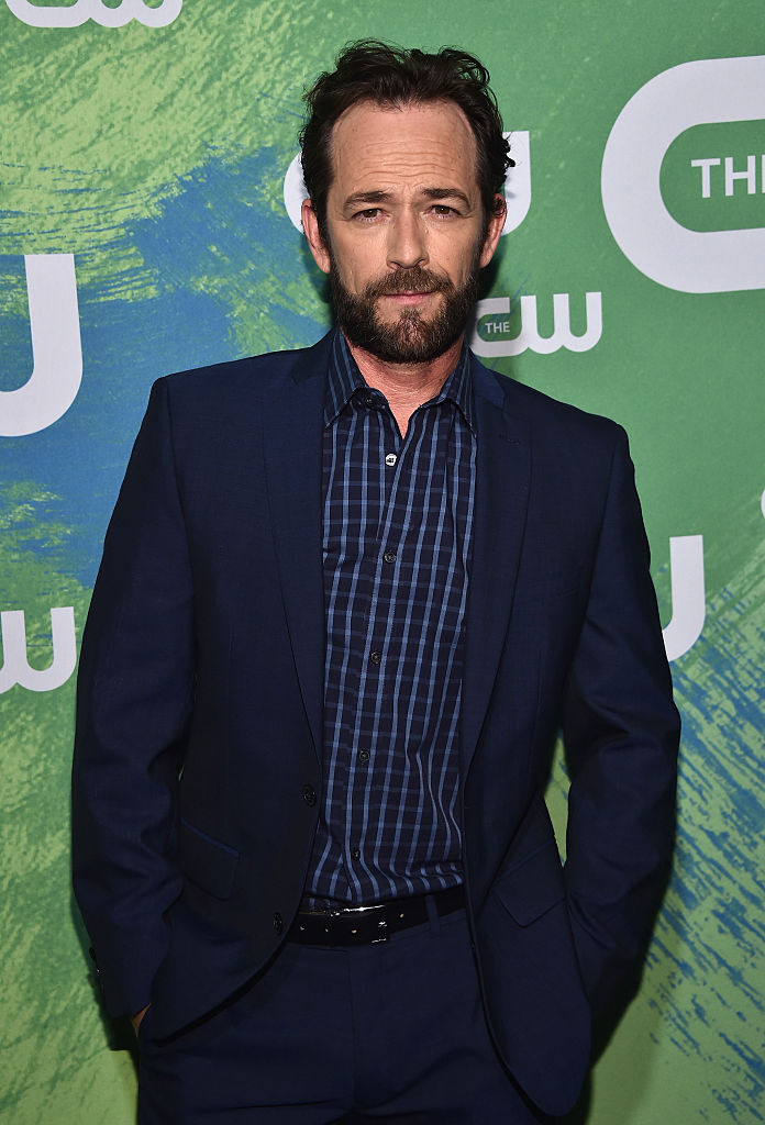 Luke Perry attends the CW Network's 2016 New York Upfront Presentation at The London Hotel on May 19, 2016 in New York City. (Photo by Dimitrios Kambouris/Getty Images)