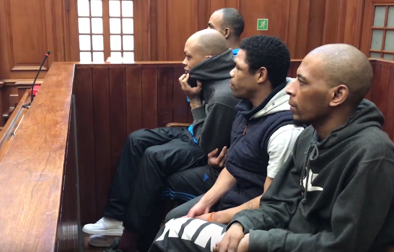 All four have been slapped with a slew of offenses including robbery, kidnapping, rape, and murder (Source: YouTube)