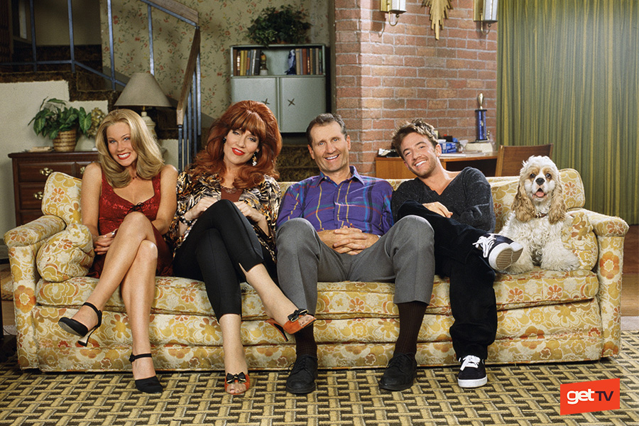 Married With Children returns on getTV this September 17