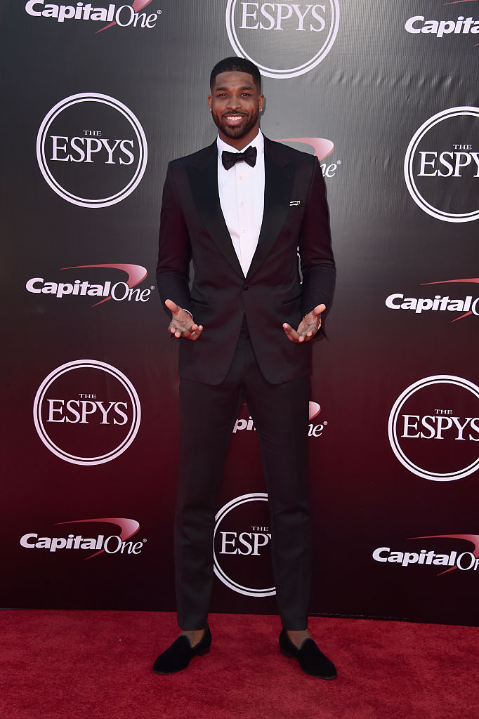 Basketball player Tristan Thompson attends the 2016 ESPYS at Microsoft Theater on July 13, 2016 in Los Angeles, California. (Photo by Alberto E. Rodriguez/Getty Images)