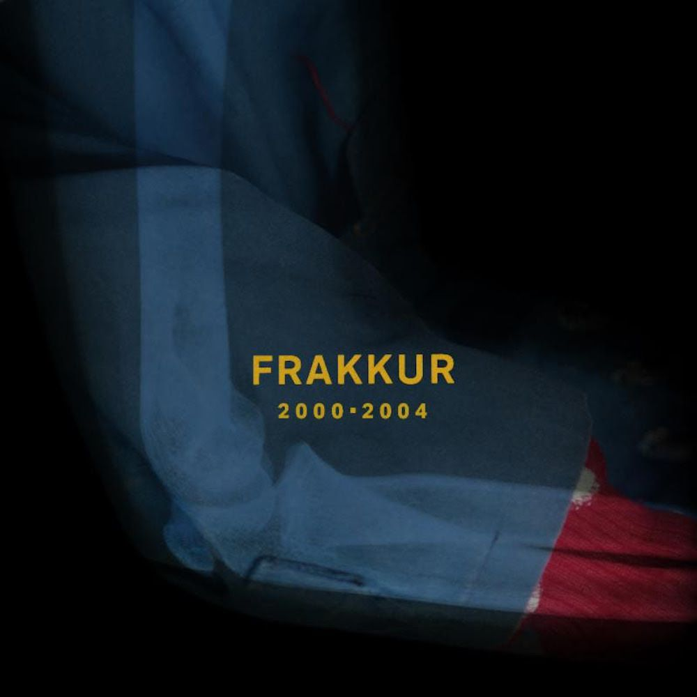 Album art for Frakkur's triple album 'Frakkur 2000 - 2004'