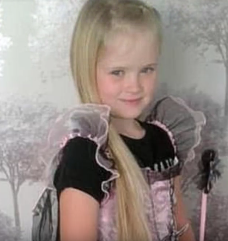 Eight-year-old Mylee died from a single stab wound to the chest (Source: YouTube)