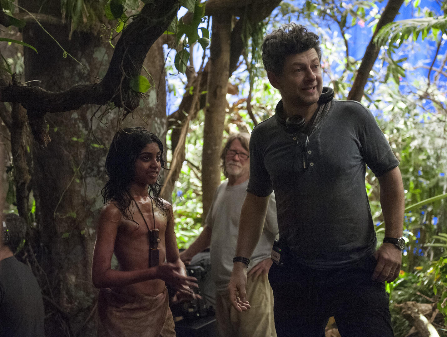 (L-R) Actor Rohan Chand and director Andy Serkis. Photo courtesy: Network.