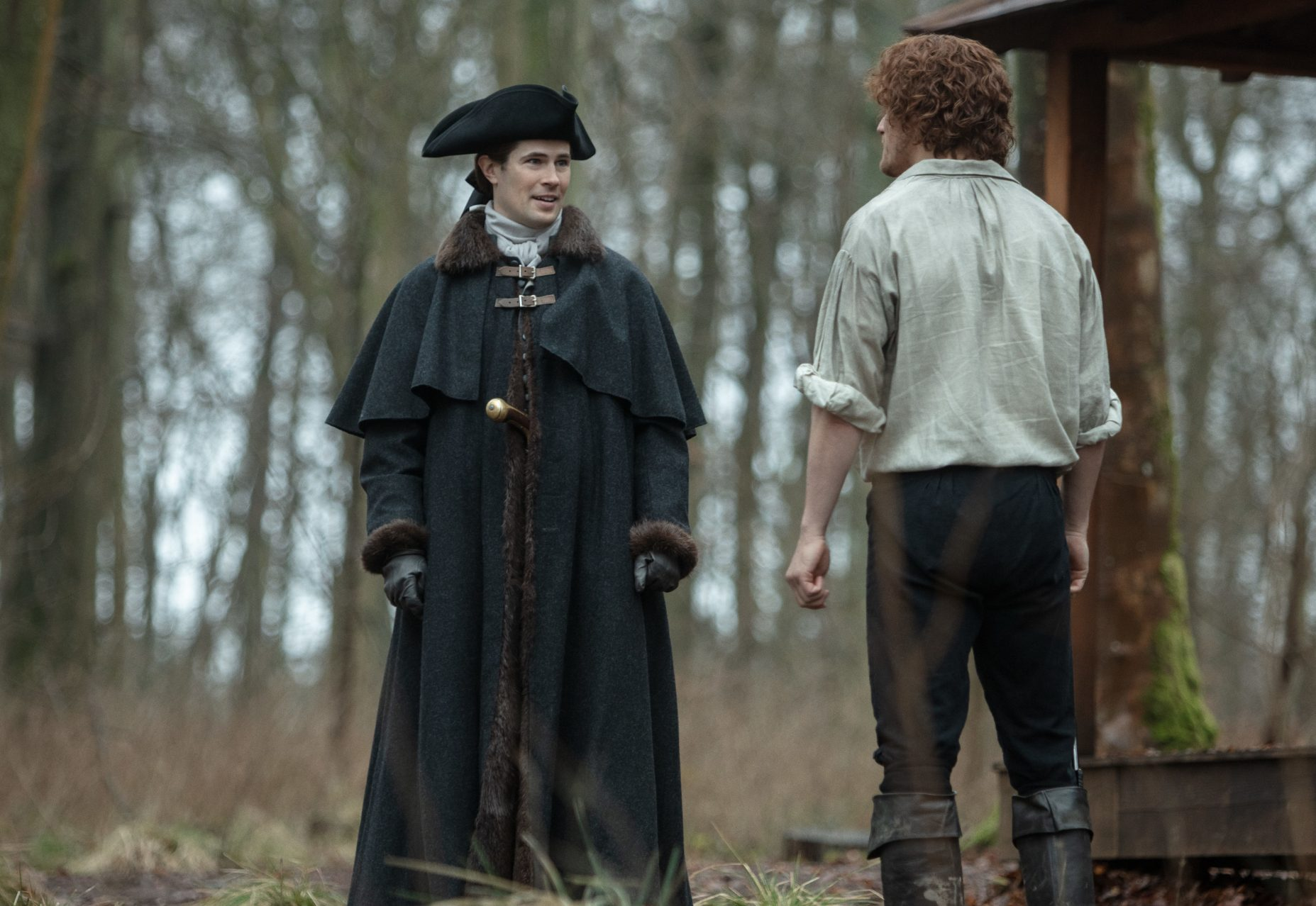Lord John Grey in Blood of My Blood season 4 (Starz)