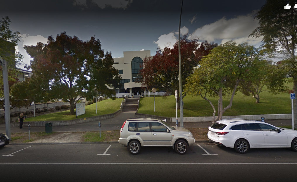 The Hamilton District Court where he was sentenced (Source: Google Maps)