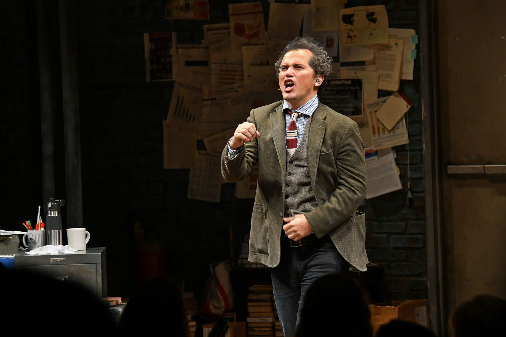 Actor John Leguizamo takes a curtain call at the end of 'Latin History For Morons' Broadway Opening Night at Studio 54 on November 15, 2017, in New York City. (Getty Images)