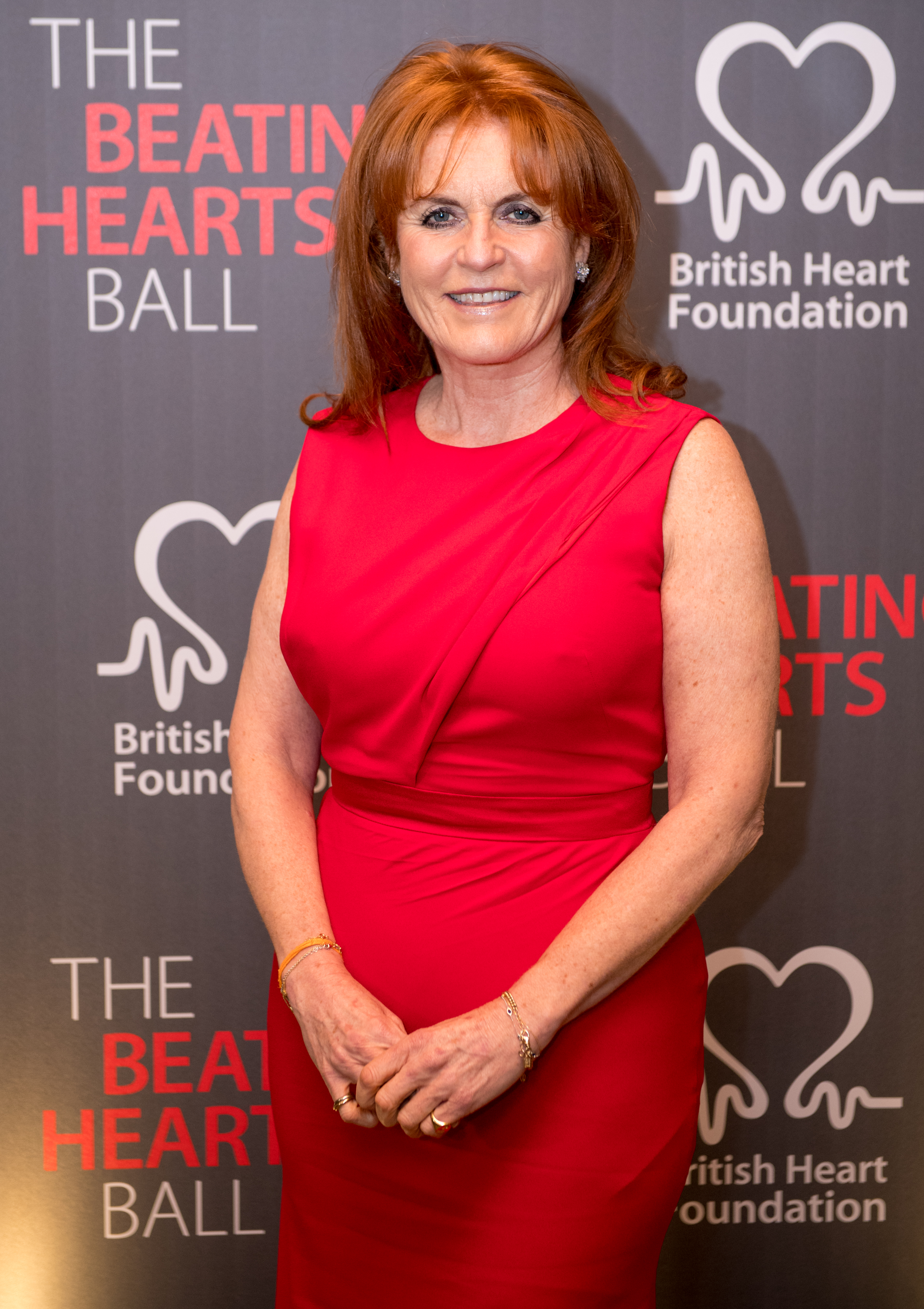 Sarah Ferguson, Duchess of York, attends the British Heart Foundation's 'The Beating Hearts Ball' at The Guildhall on February 20, 2018 in London, England. (Photo by Chris J Ratcliffe/Getty Images)