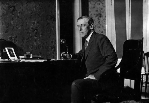 President Woodrow Wilson failed to inform the people of America about the devastating effects of Spanish Influenza (Getty Images)