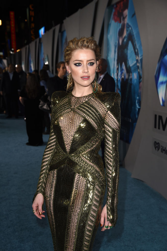 Amber Heard is still standing by her own allegations (Photo by Kevin Winter/Getty Images)