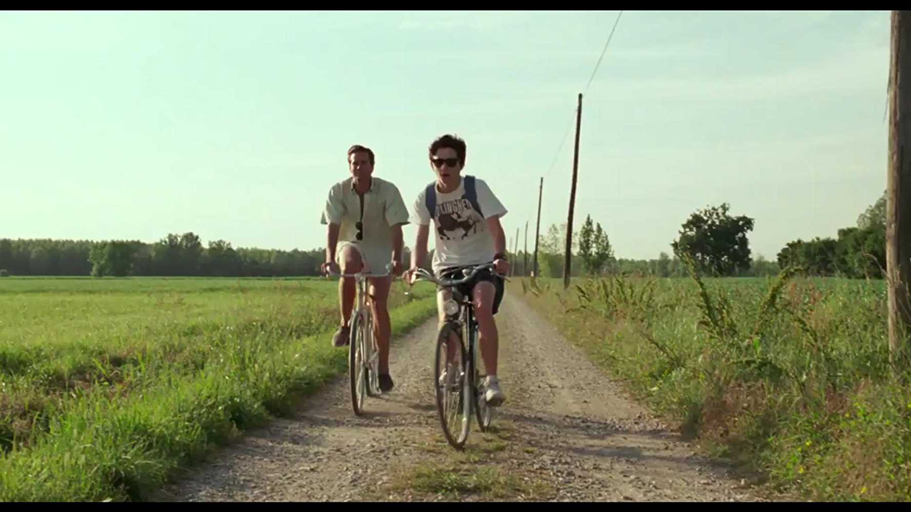 Armie Hammer and Timothee Chalamet as Oliver and Elio in Luca Guadagnino's 'Call Me By Your Name'. (IMDb)