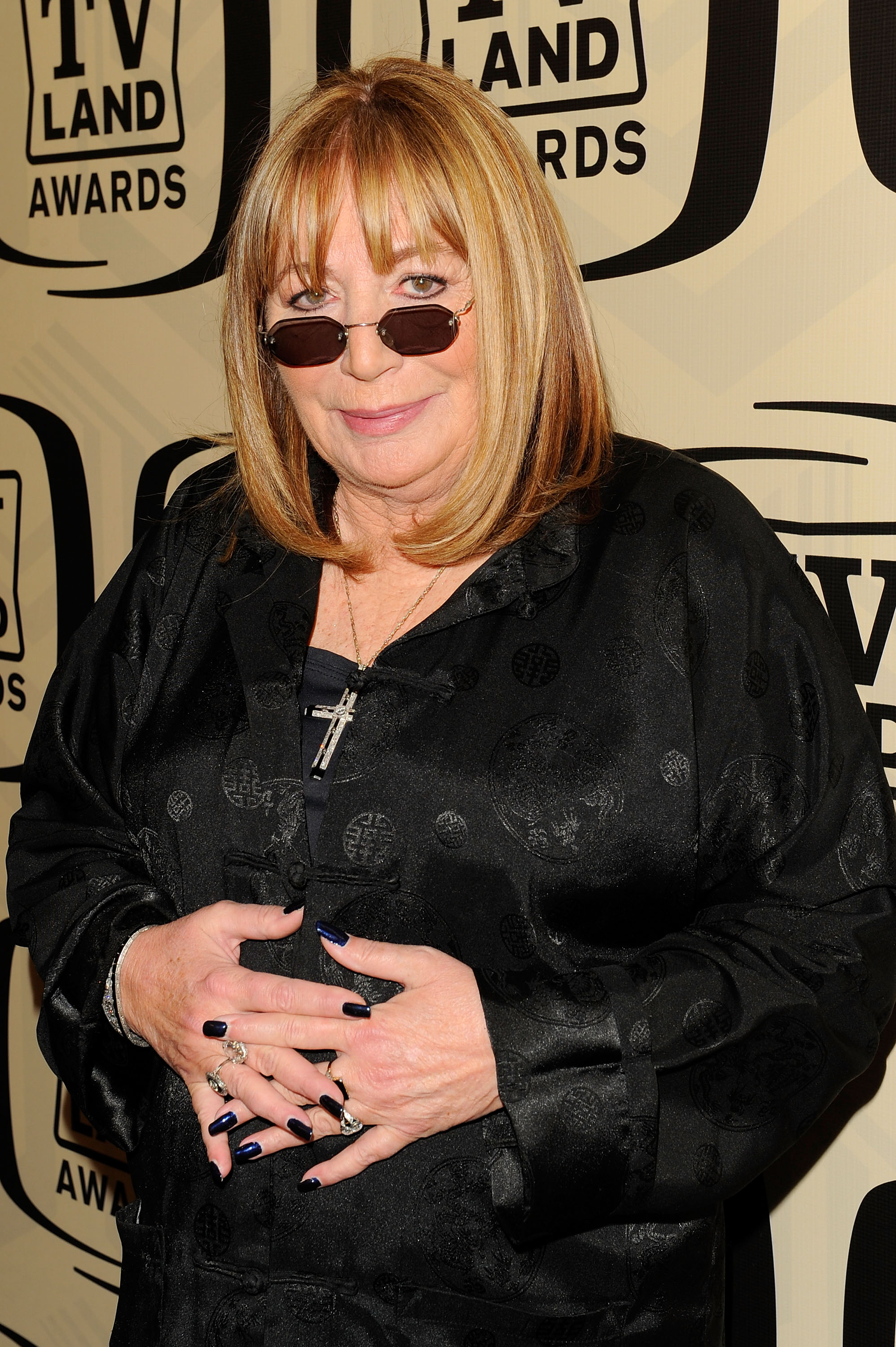 Actress Penny Marshall attends the 10th Annual TV Land Awards at the Lexington Avenue Armory on April 14, 2012 in New York City.