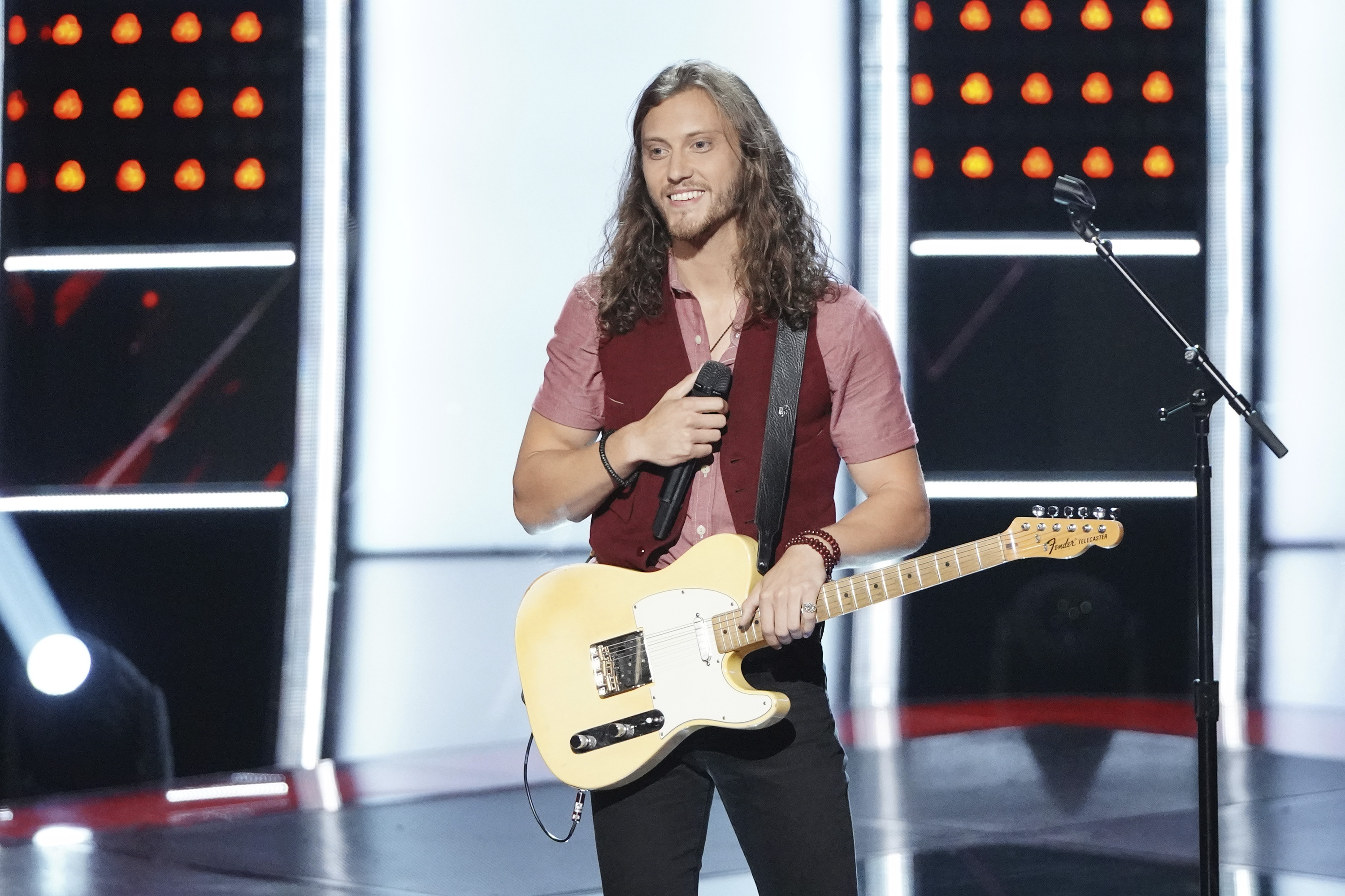 "THE VOICE -- ""Blind Auditions"" Episode 1506 -- Pictured: Cody Ray Raymond -- (Photo by: Tyler Golden/NBC)"