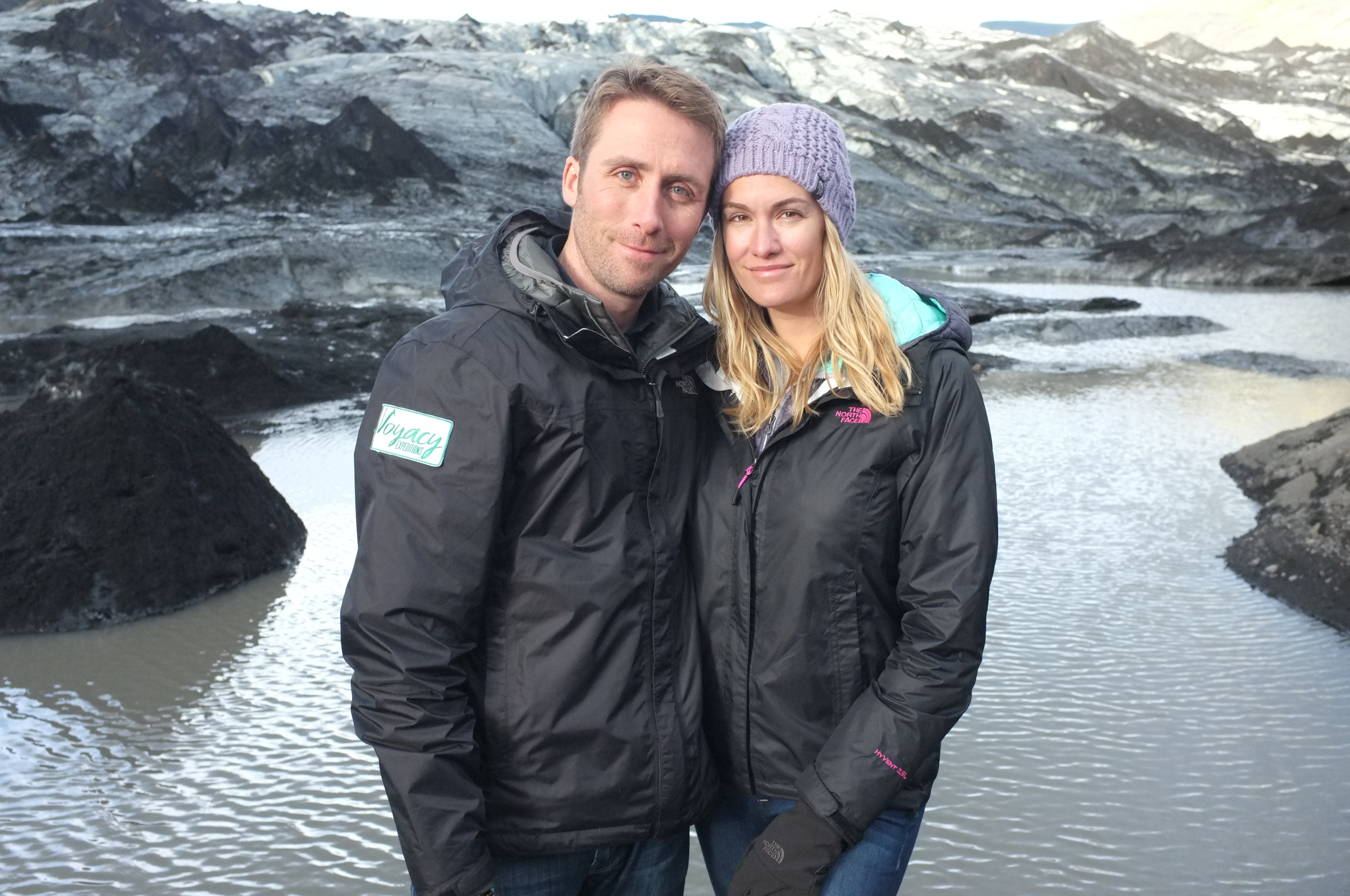 Ashlan and Philippe in Iceland. Photo Courtesy: Ashlan Cousteau