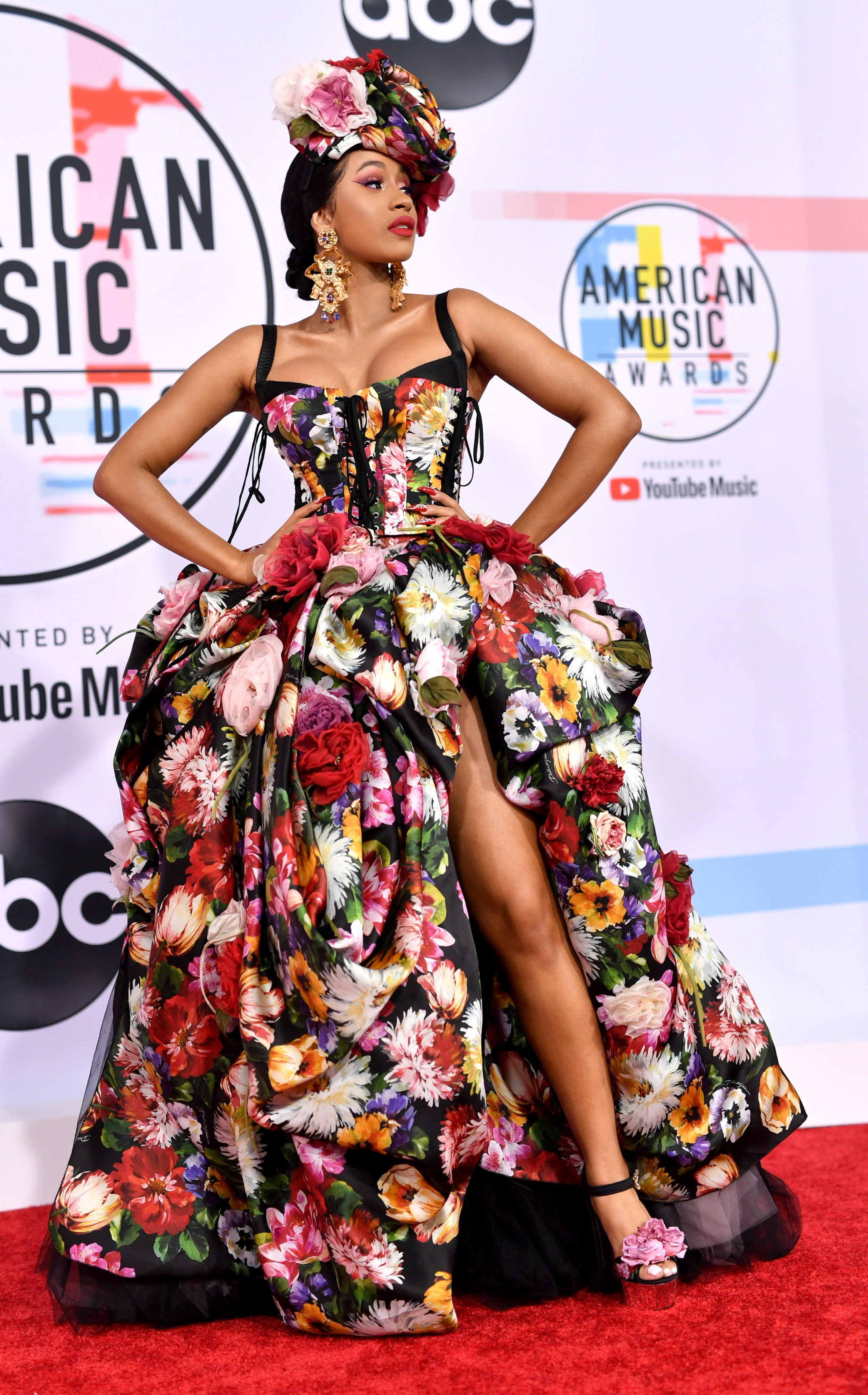 Cardi B attends the 2018 American Music Awards at Microsoft Theater on October 9, 2018, in Los Angeles, California. (Getty Images)