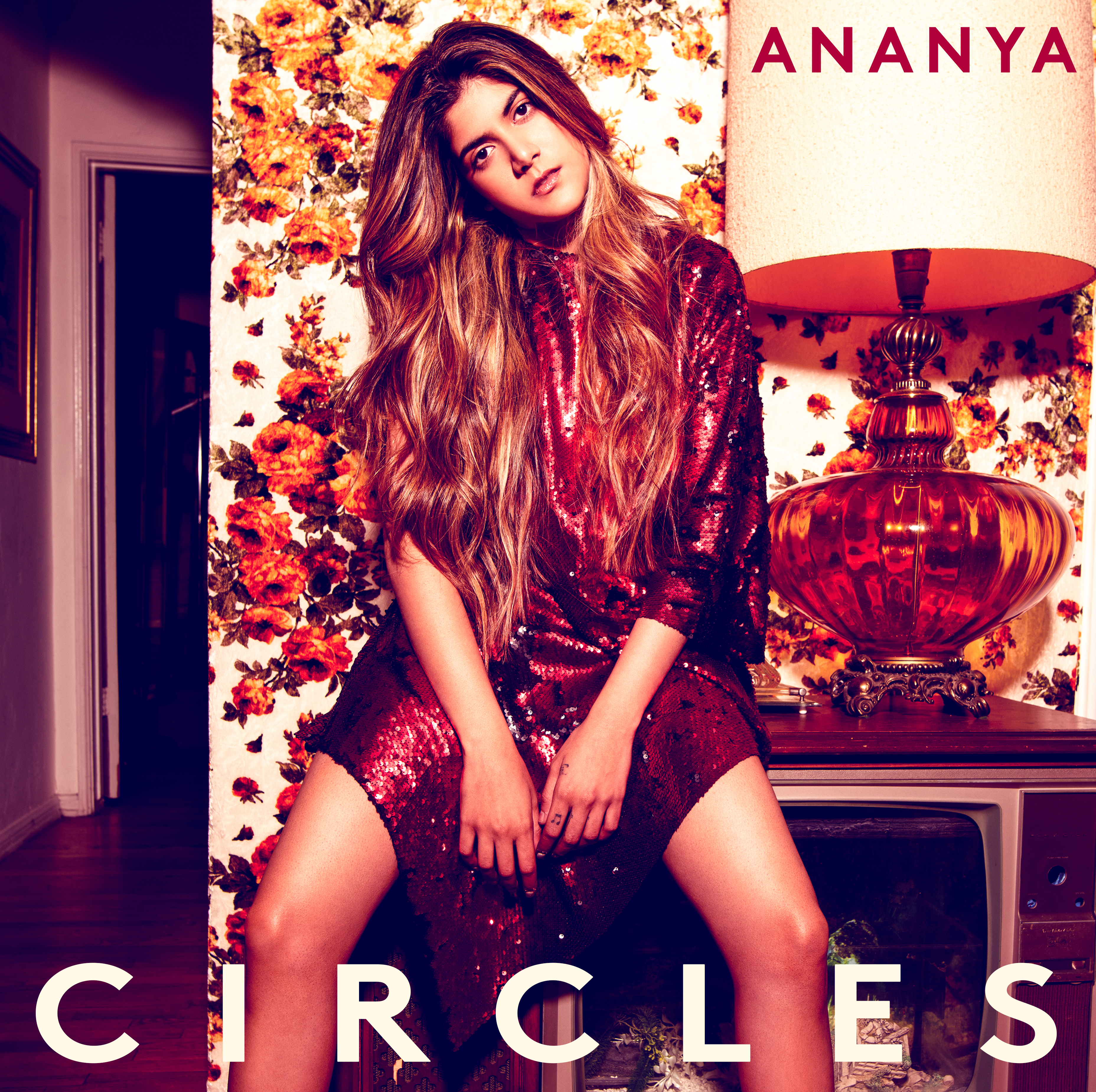 Cover art for Ananya's latest single, 'Circles'.