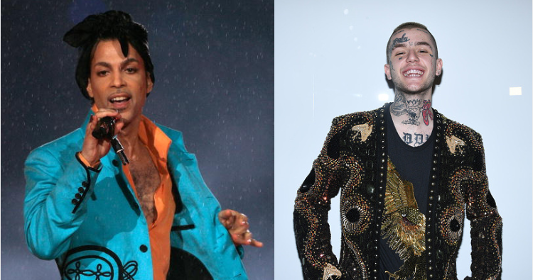 Both Prince and Lil Peep had died due to the overdose of the same drug which had left Demi Lovato unconscious. (Getty Images)