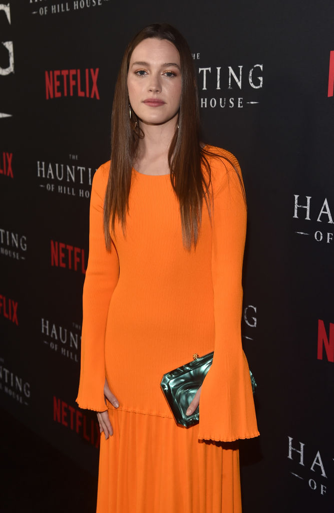 Victoria Pedretti attends the premiere of Neflix's 'The Haunting Of Hill House' at ArcLight Hollywood on October 8, 2018 in Hollywood, California. (Photo by Alberto E. Rodriguez/Getty Images)