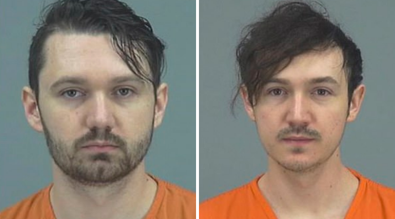 Ryan (L) and Logan Hackney (Source: Pinal County Jail)