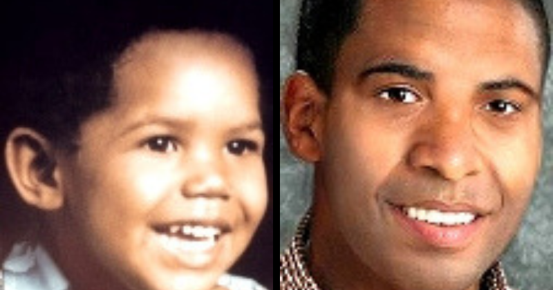 A progression photo of Francillon, who was three-years-old when he went missing in 1986 (Source: National Center for Missing and Exploited Children)
