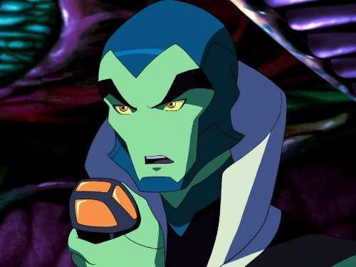 The Reach Ambassador with his mind control device in 'Young Justice'. (Source: IMDB)