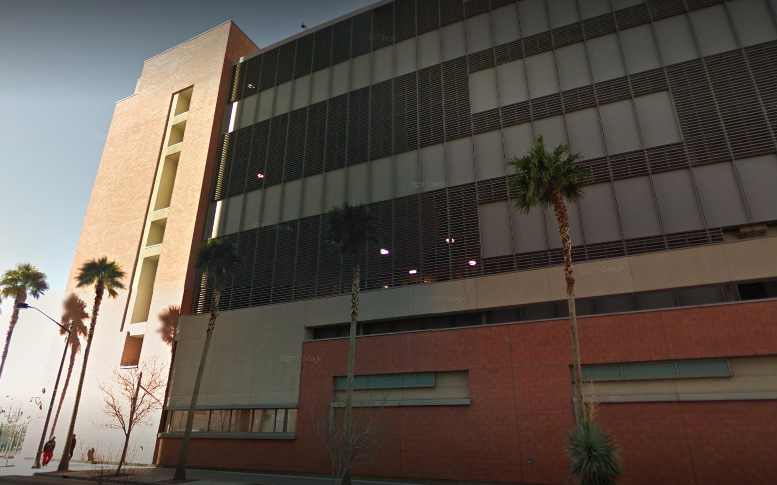 Sorkow is being held at the Clark County Detention Center (Source: Google Maps)