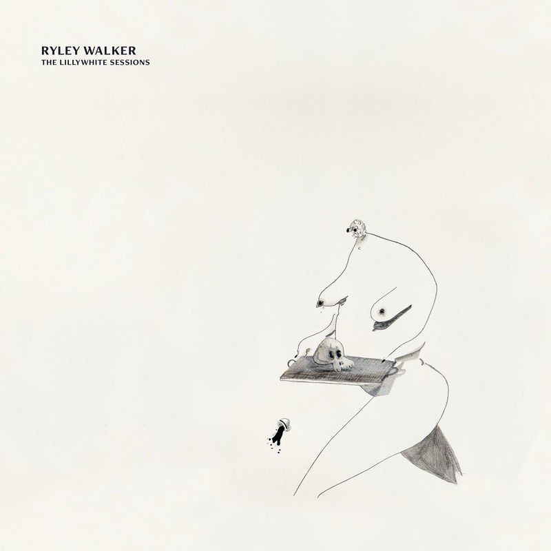 Album art for Ryley Walker's 'The Lillywhite Sessions'.