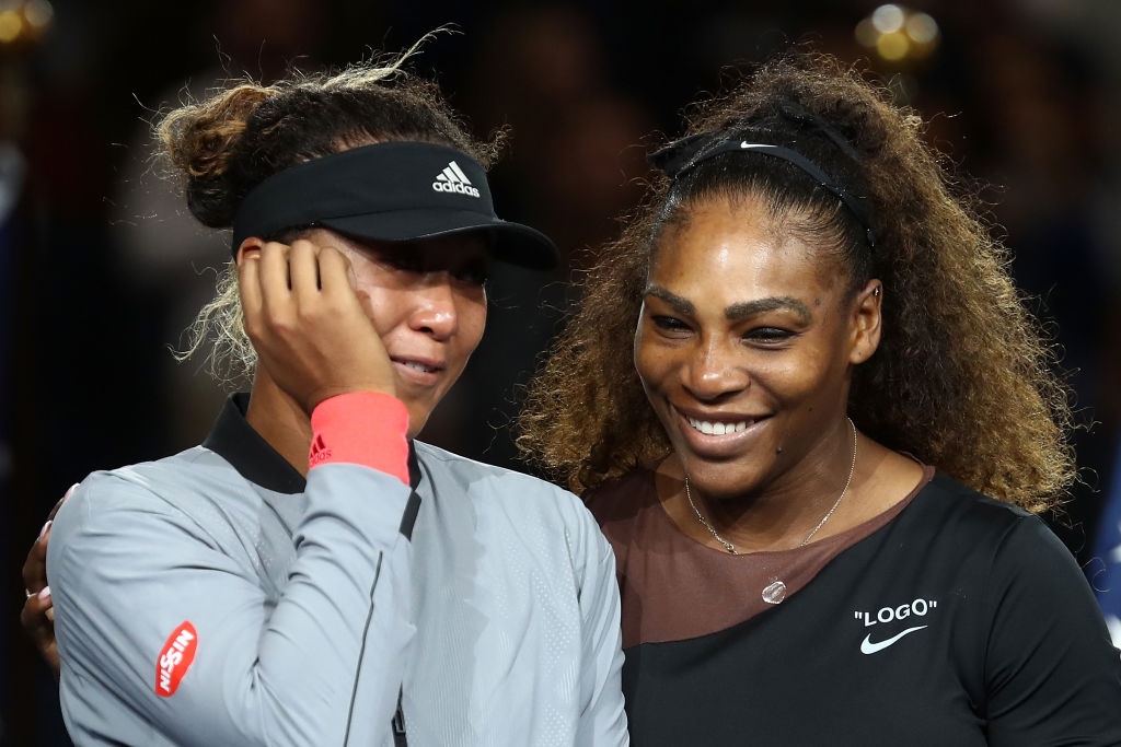 Naomi Osaka defeated Serena Williams 6-2, 6-4 to win her first Grand Slam title (Photo by Julian Finney/Getty Images)
