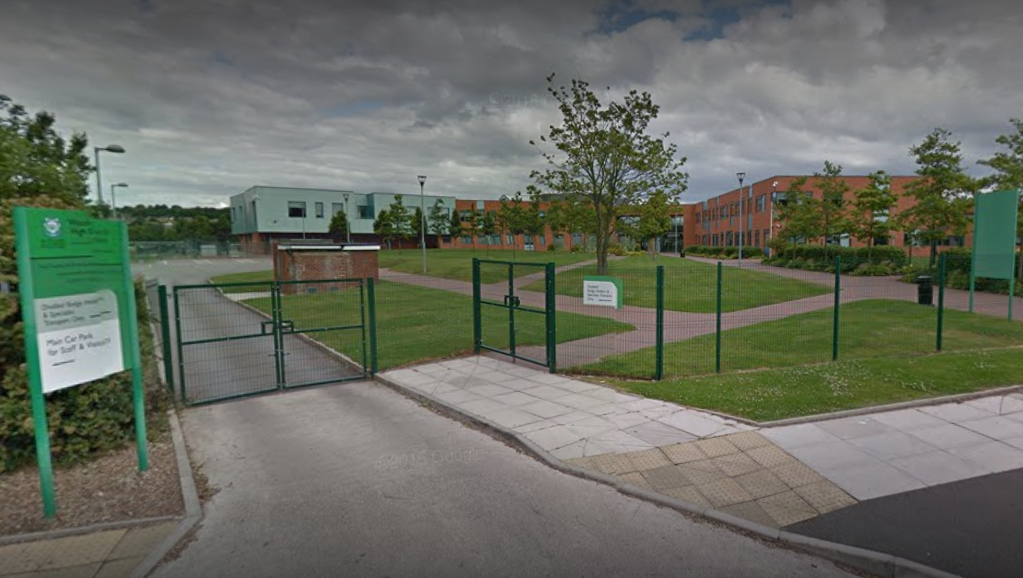 "Woodchurch High School's new ban seeks to weed out ""poverty shaming"" (Source: Google Maps)"