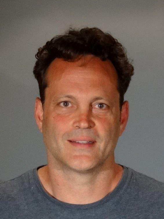 In this handout photo provided by the Manhattan Beach Police Department, actor Vince Vaughn is seen in a police booking photo after his arrest on suspicion of driving under the influence June 10, 2018, in Manhattan Beach, California (Source: Getty Images)