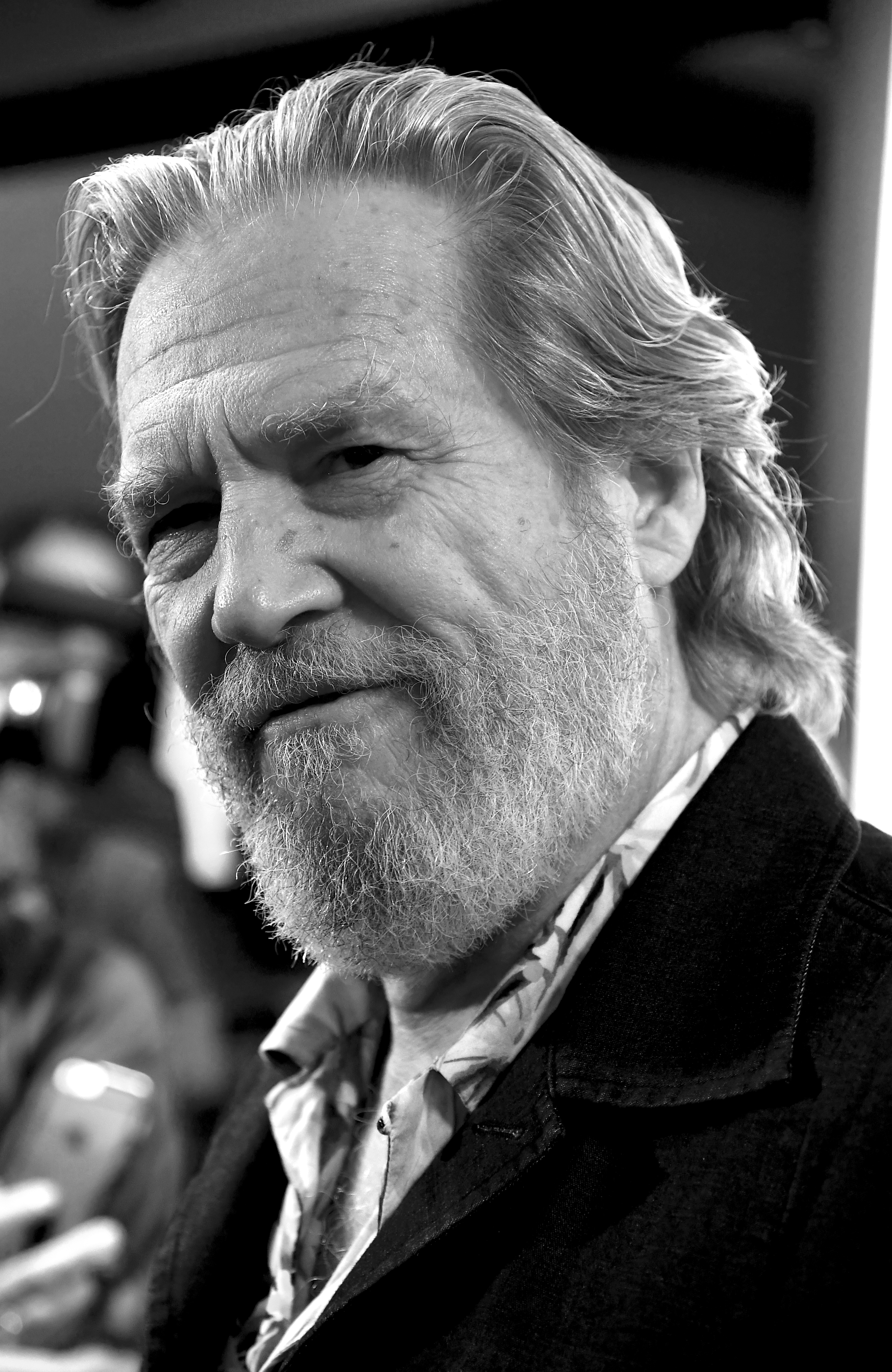 Jeff Bridges attends the Premiere Of Vision Films' 'Living In The Future's Past' at Ahrya Fine Arts Theater on October 2, 2018 in Beverly Hills, California.