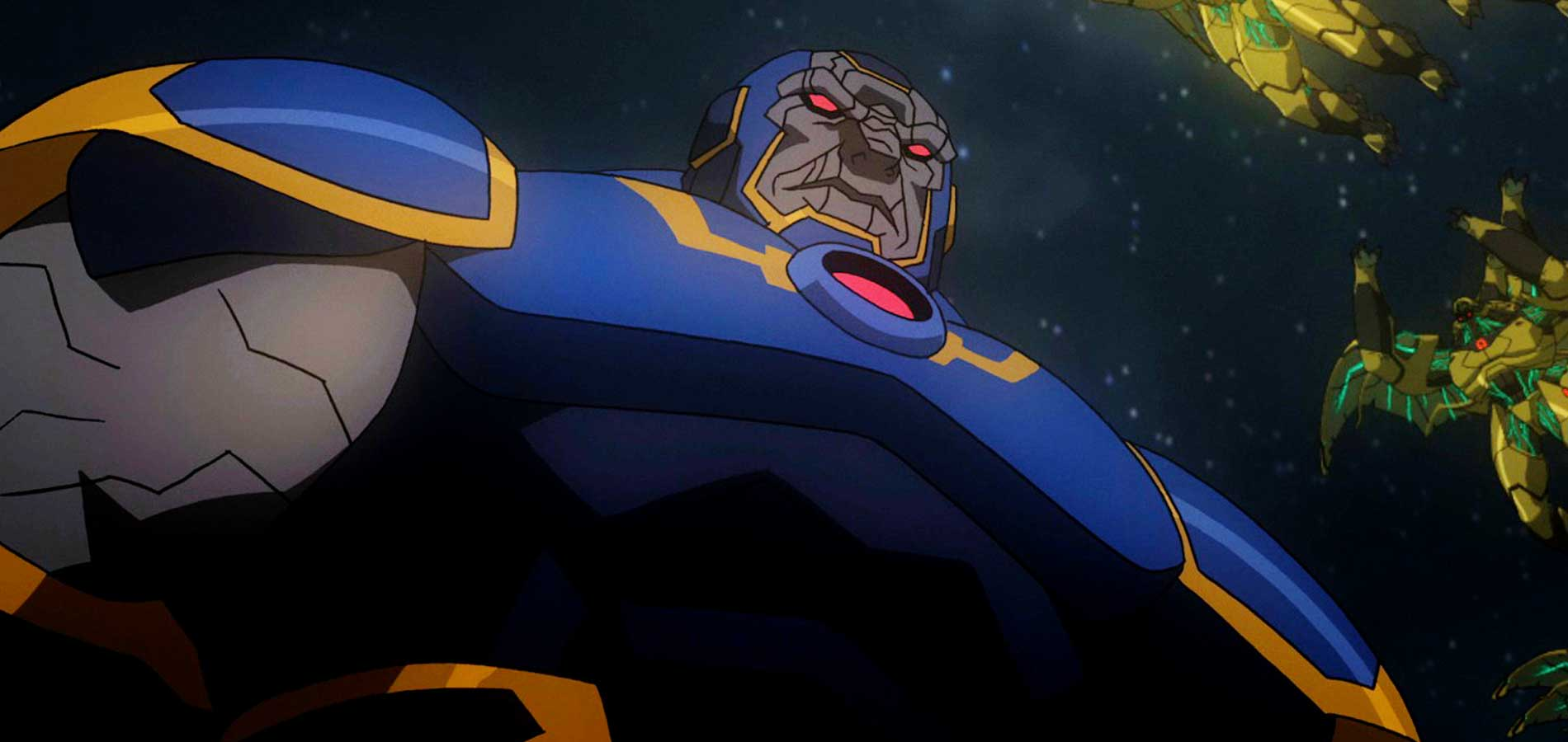 Darkseid and his army of parademons in 'Young Justice'. (Source: IMDB)