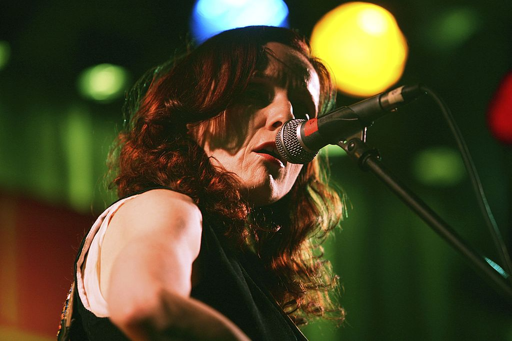 Patty Griffin performs at Tribeca/ASCAP Music Lounge at the Canal Room May 3, 2006, in New York. (Photo by Amy Sussman/Getty Images)