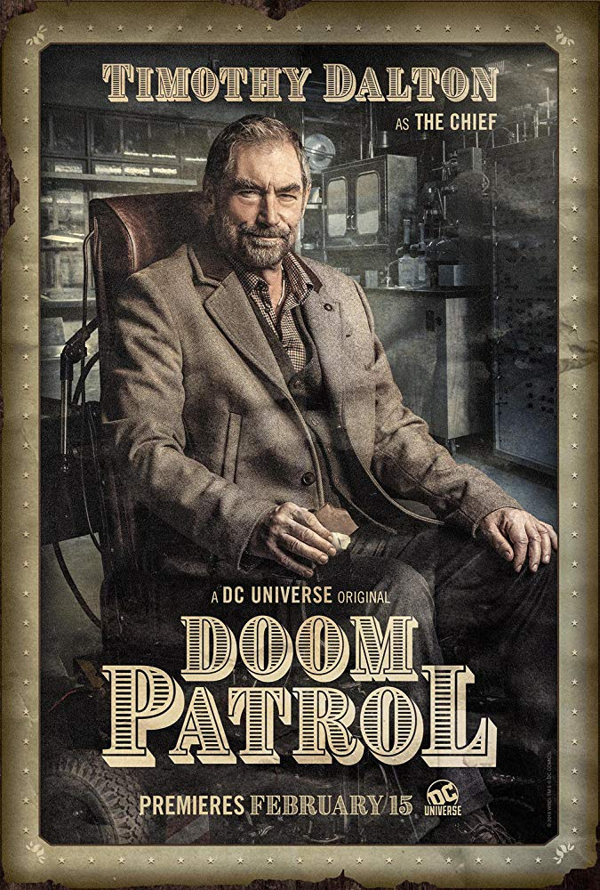 Timothy Dalton as The Chief in 'Doom Patrol' (2019) Source: IMDB