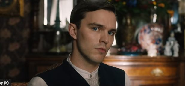 Nicholas Hoult plays the role of JRR Tolkien in the upcoming film 'Tolkien'. (Source: YouTube)