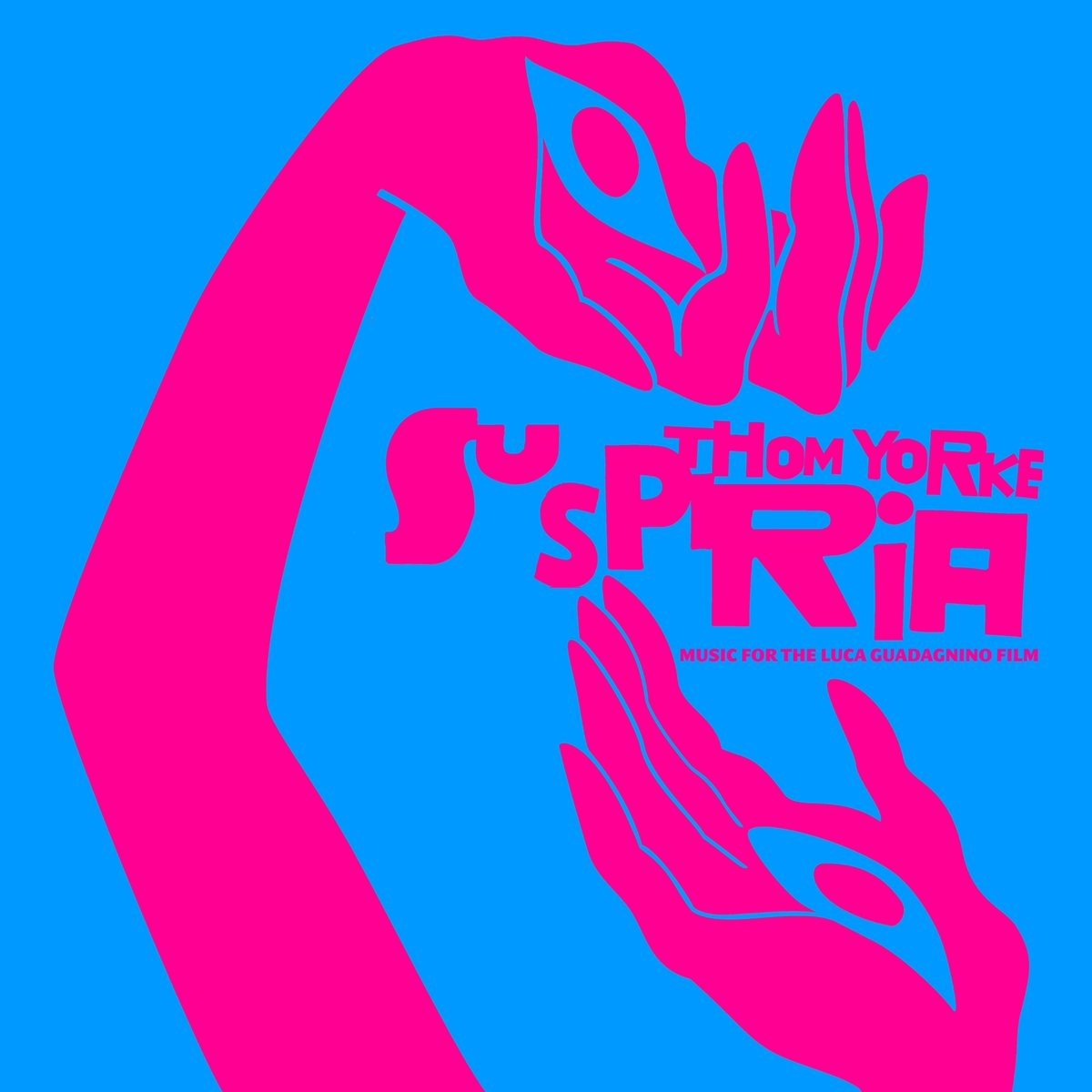Album art for Thom Yorke's soundtrack for Lucas Guadagnino's 'Suspiria' (Image Credit: XL Recordings)