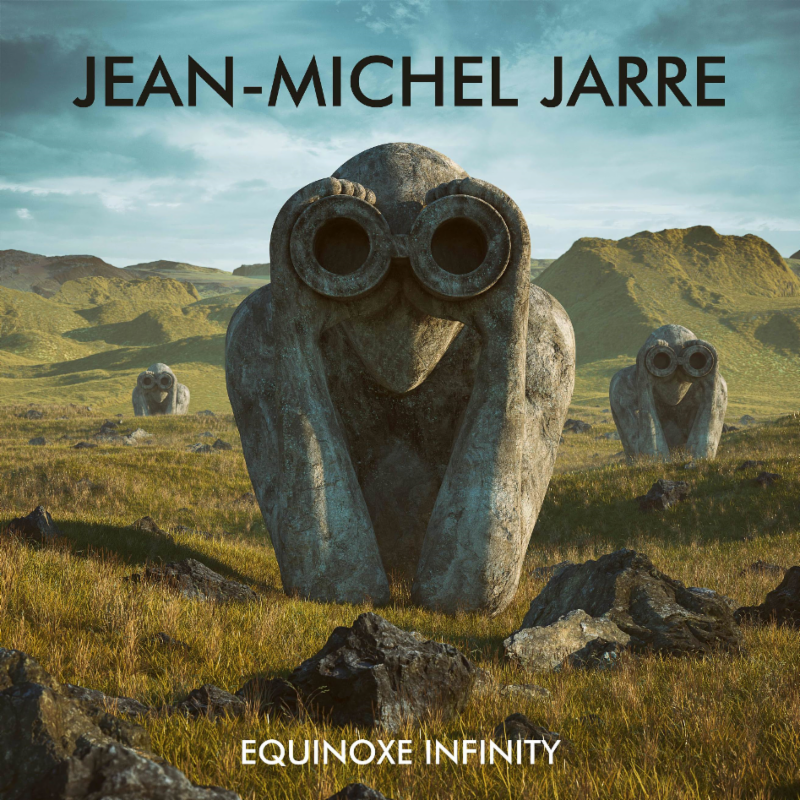 One of two alternate album covers for Jean-Michel Jarre's 'Equinoxe Infinity'