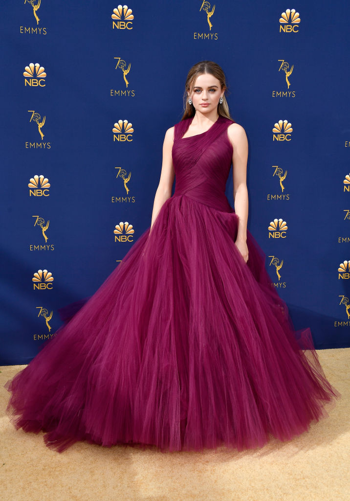 Joey King attends the 70th Emmy Awards at Microsoft Theater on September 17, 2018 in Los Angeles, California. (Photo by Frazer Harrison/Getty Images)