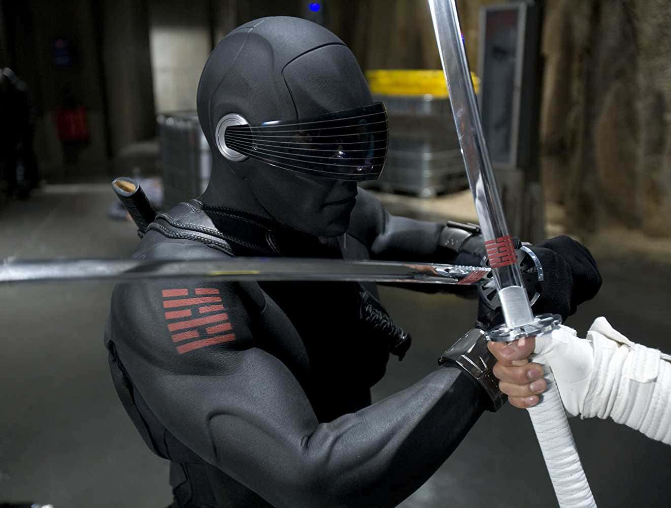 G I  Joe Chuckles and 'Snake Eyes': Paramount's spin-off frenzy into
