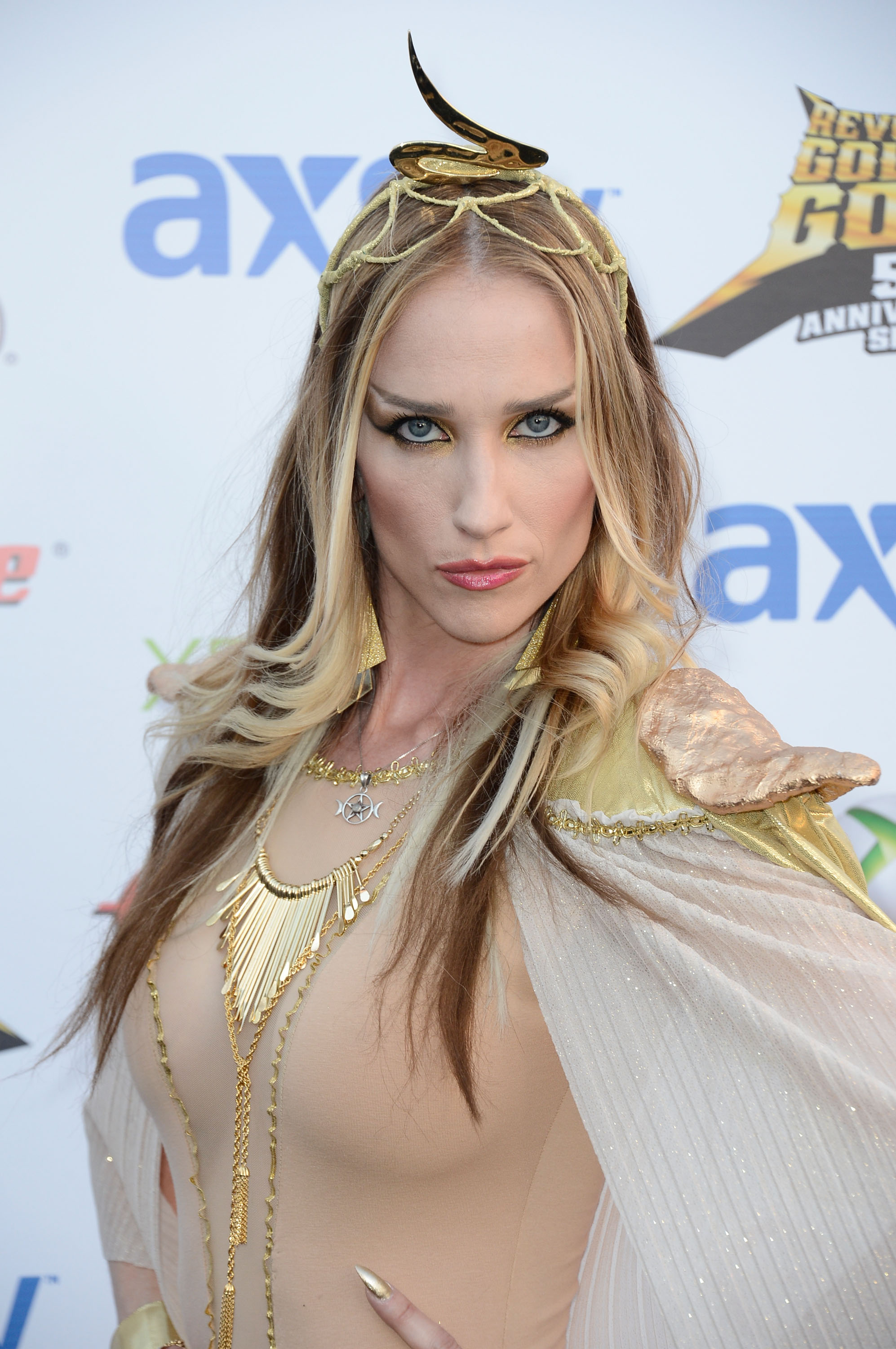 Musician Jill Janus arrives at the 5th Annual Revolver Golden Gods Award Show at Club Nokia on May 2, 2013 in Los Angeles, California.