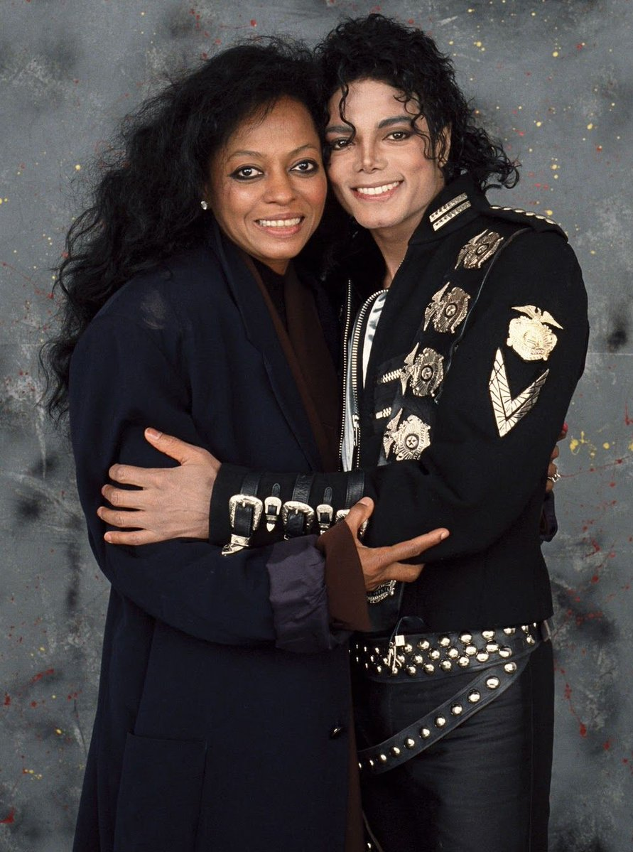 "Diana Ross believes that her friend Michael Jackson was an ""magnificent incredible force"" in her life and does not deserve the accusations and allegations against him (Twitter)"