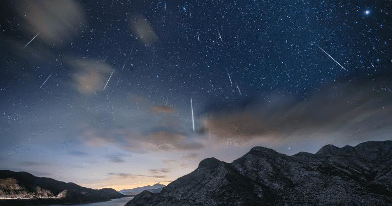 Meteorit April 2021