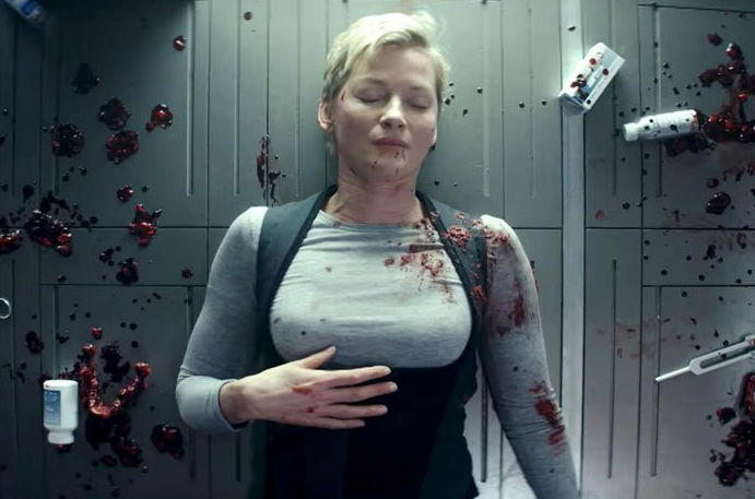 Gretchen Mol as Agatha Matheson in SyFy's Nightflyers.