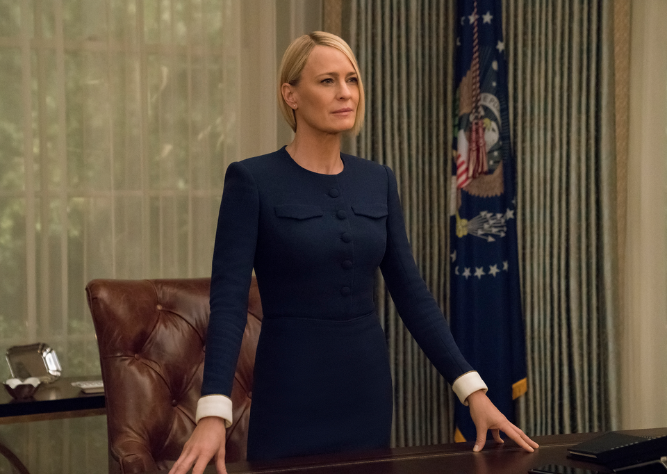 Wright's Claire Underwood will be taking center stage (Source: David Giesbrecht/Netflix)
