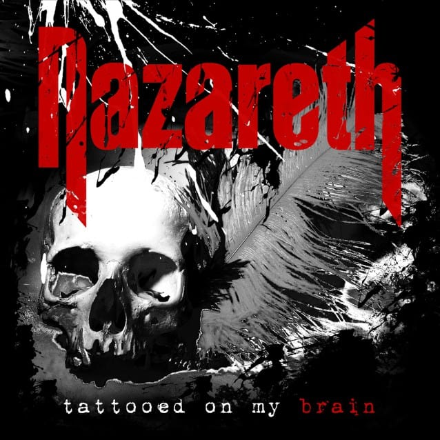 Album art for Nazareth's 'Tattooed On My Brain'