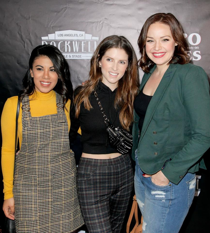 Anna Kendrick, Shelley Regner and Chrissie Fit at #UOMPStrangerThings