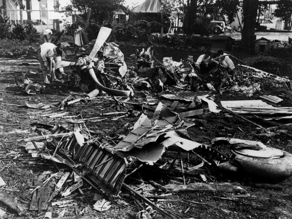 The aftermath of the Japanese attack on Pearl Harbor (Source: Getty Images)